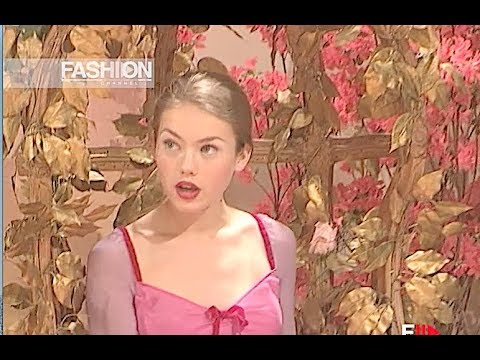 LUISA BECCARIA Fall 1999 2000 Milan - Fashion Channel