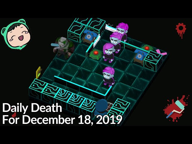 Friday The 13th: Killer Puzzle - Daily Death for December 18, 2019