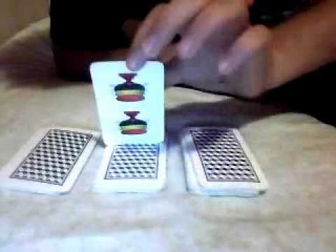 Trucco di magia con carte napoletane youtube for Due di bastoni carte napoletane