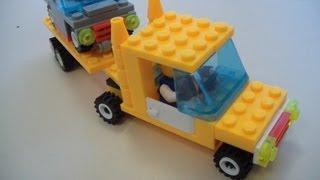 Делаем мини-грузовик с прицепом из Лего