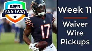 Week 11 Waiver Wire Targets | 2018 Fantasy Football