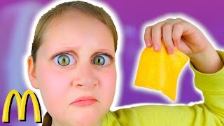ORDERING ONE SLICE OF CHEESE AT MCDONALDS!! IT WORKED!!