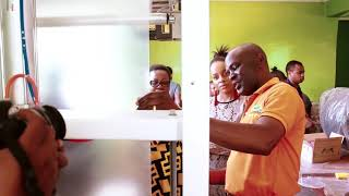 Nandy Atembelea Kiwanda Cha Grace Product Chenye Kutengeneza Bidhaa Za Nandy Product.