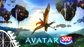 Roller Coaster 360 VR Video - Avatar The Ride (Planet Coaster)
