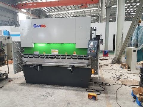 E21 NC hydraulic press brake| 80TX2500 sheet metal bending machine-GLDMA