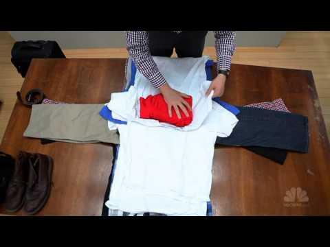Tips cara ara lipat pakaian untuk packing dalam koper saat berpergian