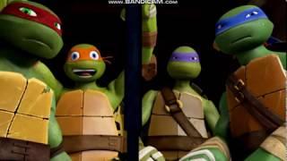 Клип Черепашки ниндзя: 4 Пацана