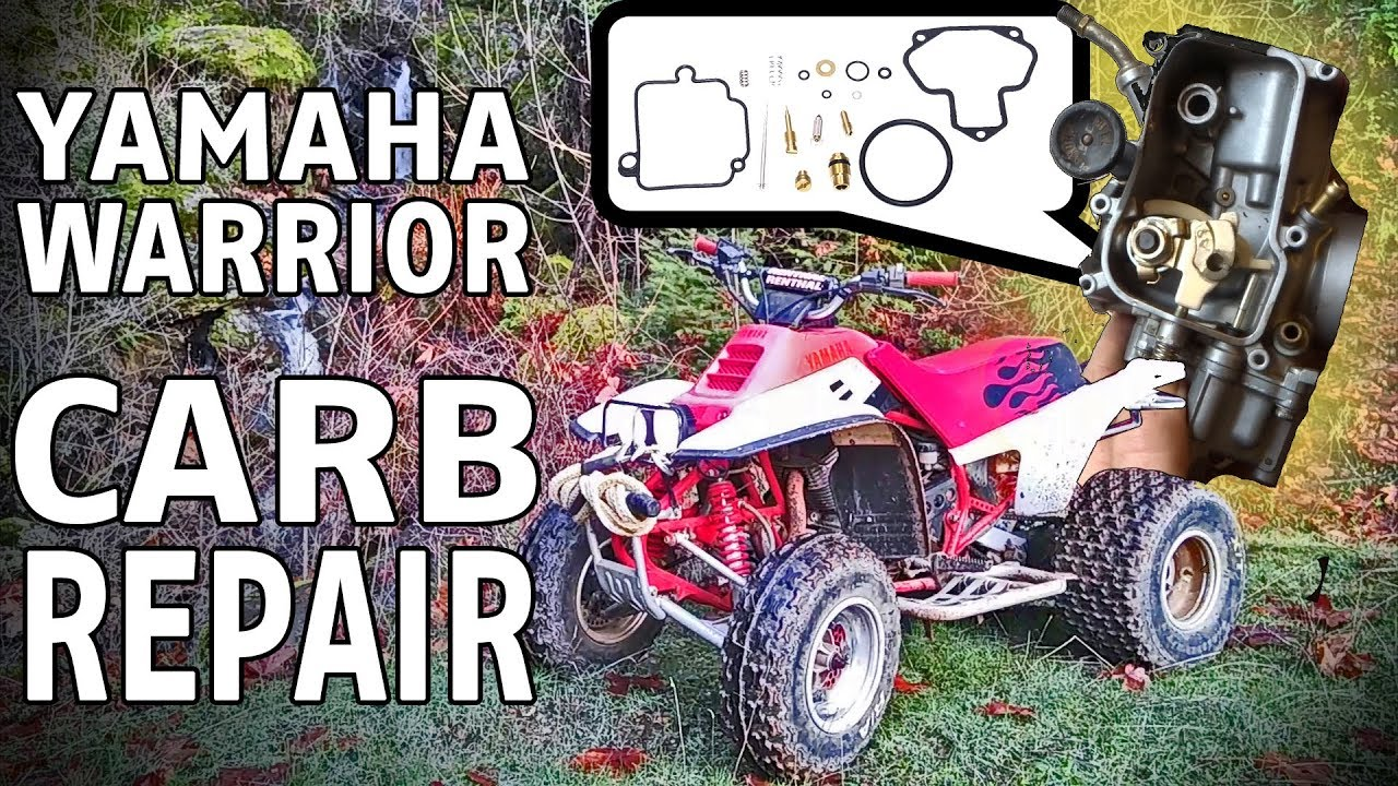 Yamaha Warrior ATV Carb Clean Repair And Rebuild Carburetor Fuel. Yamaha Warrior ATV Carb Clean Repair And Rebuild Carburetor Fuel System Tune Up. Yamaha. 2000 Yamaha 350 Warrior Mikuni Carburetor Diagram At Scoala.co