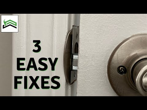 How To Fix A Door That Won't Latch