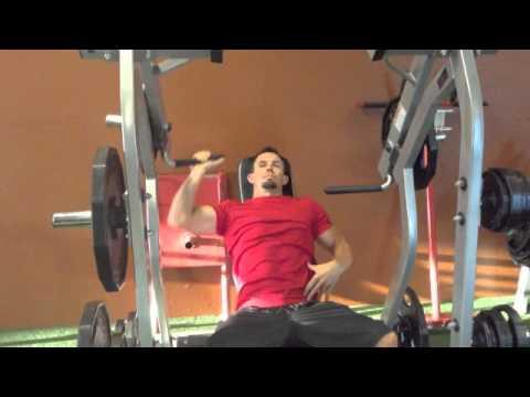 hammer strength single arm press