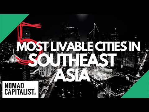 The Five Most Livable Cities in Southeast Asia