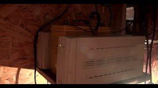 Резервное электроснабжение дома. ИБП + авто аккумулятор.