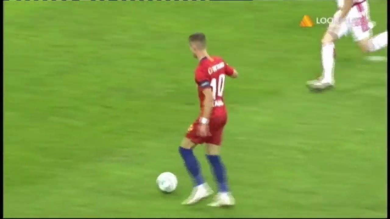 FCSB - Dinamo I Tanase marcheaza in min. 8 din pasa lui Man