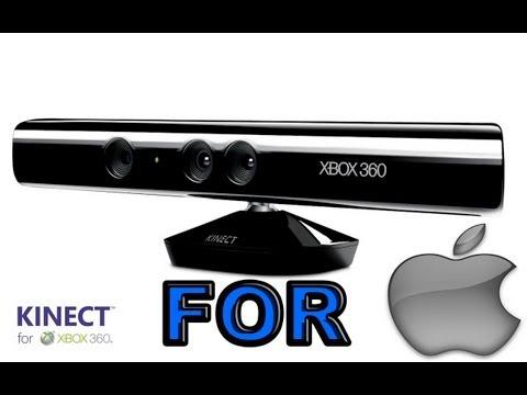 Microsoft KINECT for MAC !