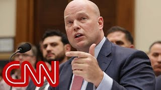 See heated exchange on Whitaker's communication with Trump