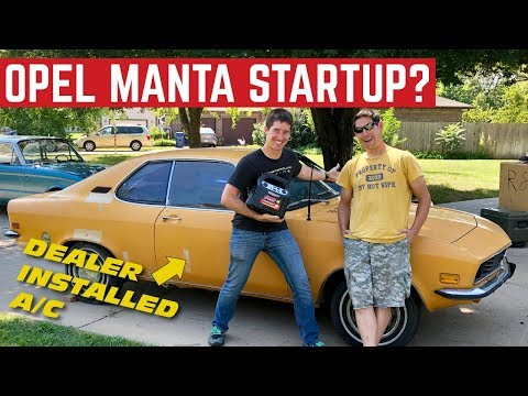 Opel Manta STARTUP After 20 YEARS *Will It Drive?*