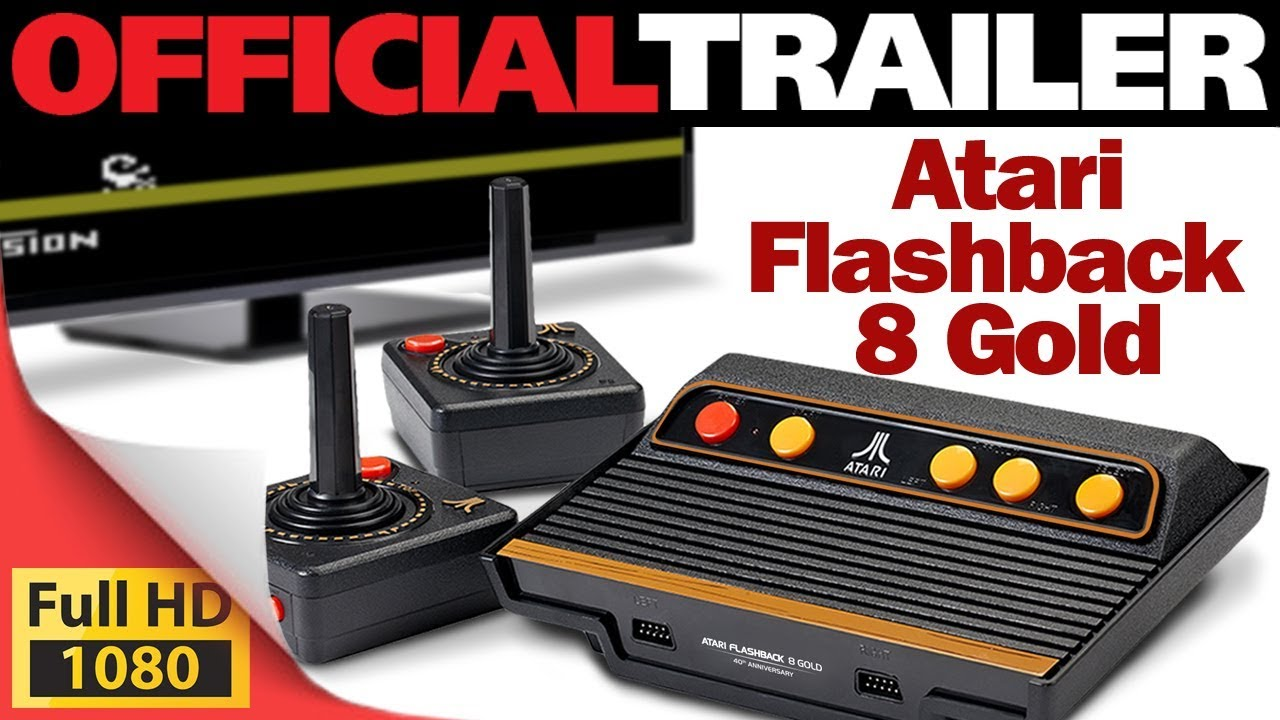 Video Games Atari Flashback 8 Gold Full Games List 120