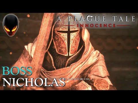 A Plague Tale Innocence : Boss Nicholas (Chapitre 15)