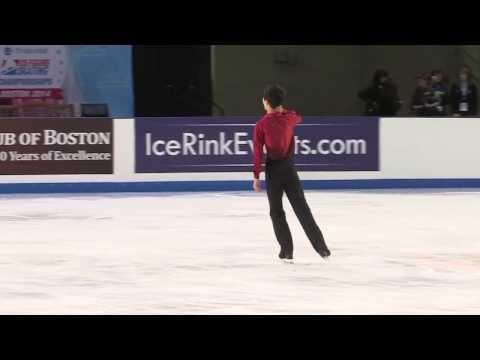 2014 US Figure Skating Championships Intermediate Men sp -  Peter Liu