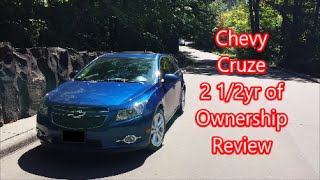 Chevy Cruze 2.5yr of Ownership Review