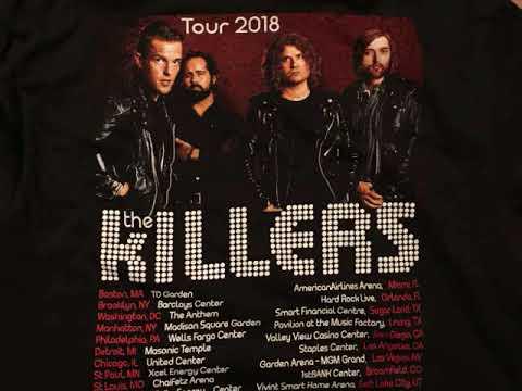 The Killers 2018 01 07 TD Garden Boston Ma