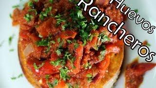 Meksykańskie Śniadanie ''huevos Rancheros ''