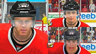 Patrick Kane Player Progression from NHL 09 to NHL 17! #CHI #PS4