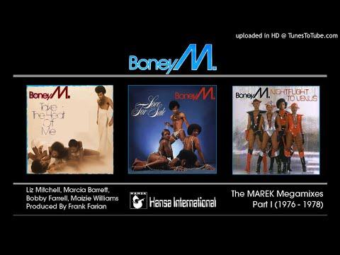 Boney M.: The Marek Album Megamixes, Part I (1976-78)