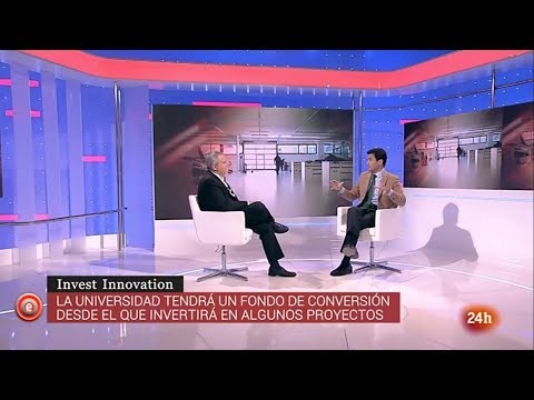 Pablo Gimeno descubre en el canal 24h las claves de 'Invest Innovation UFV'