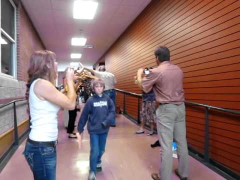 Coupeville Elementary School Moving On 2012 bubble exit