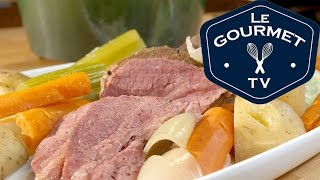 Corned Beef and Cabbage Recipe - LeGourmetTV