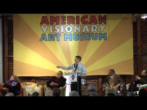 Jason Padgett speaking @ American Visionary Art Museum