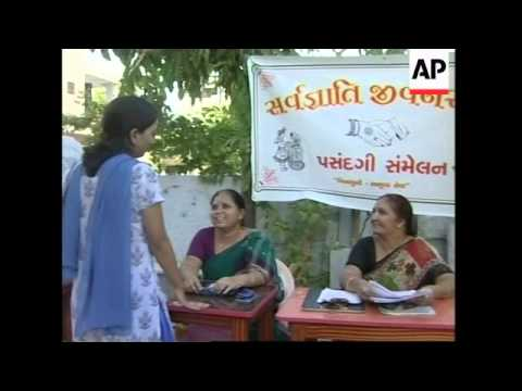 Indian marriage bureau encourages widows to re-marry.