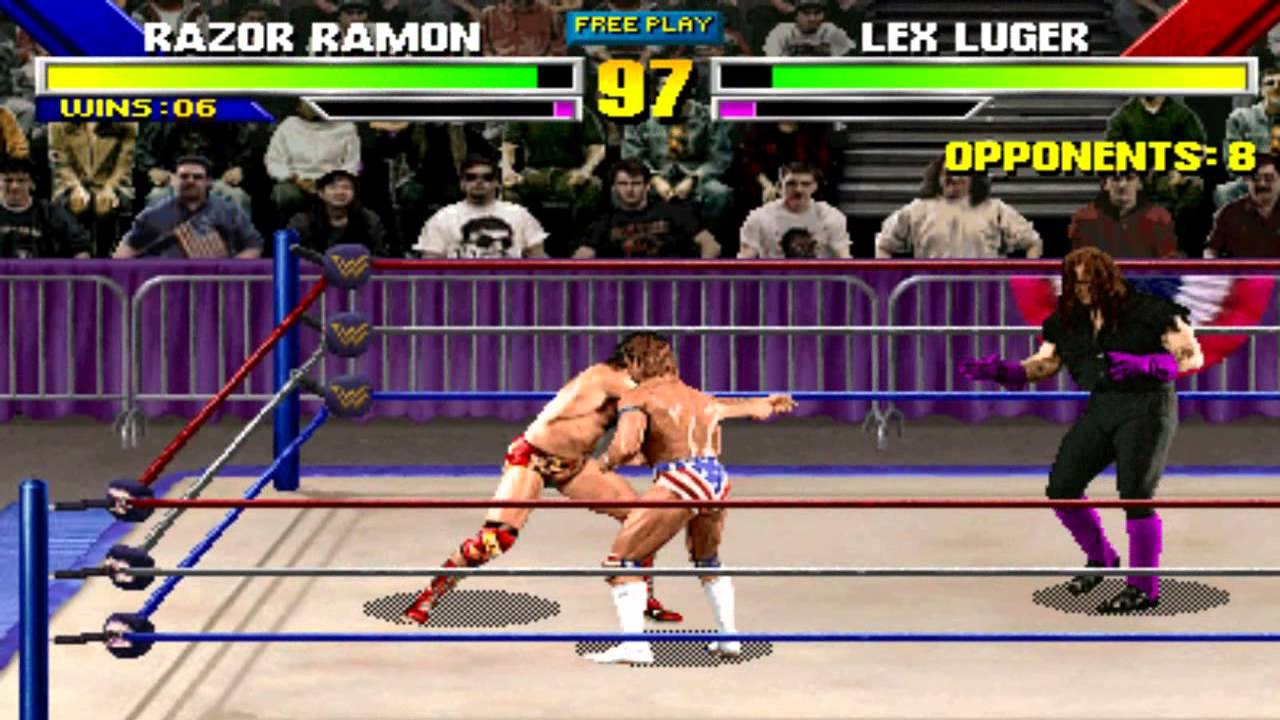 Image result for wrestlemania the arcade game