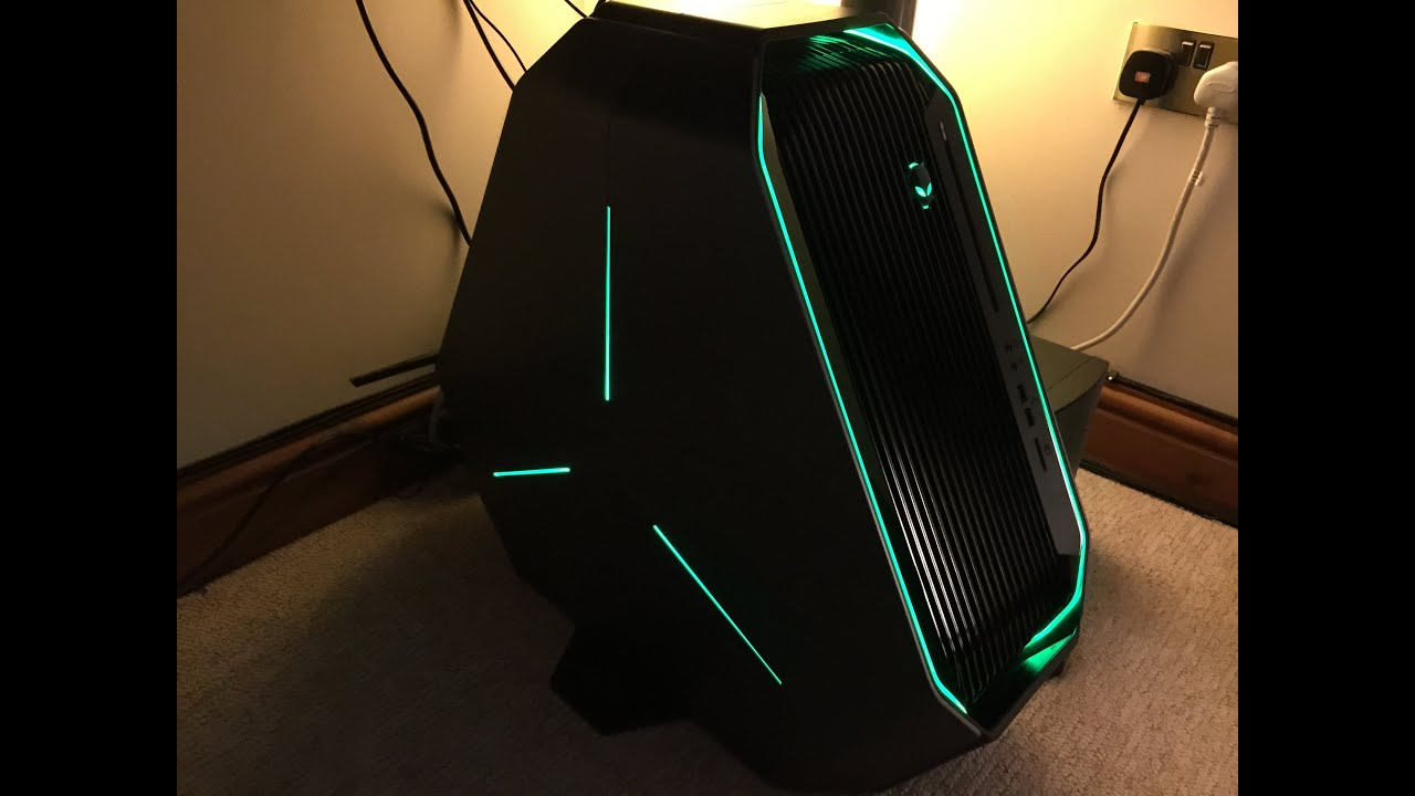 Alienware Area 51 2015- Setup Tour & Initial Thoughts