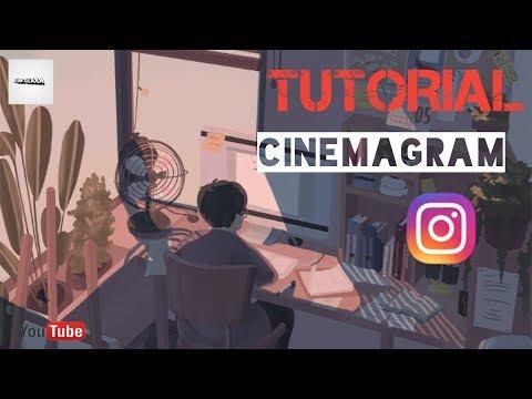 VIRAL!!! TUTORIAL MEMBUAT VIDEO CINEMAGRAM Seperti Sandy Kinos#2