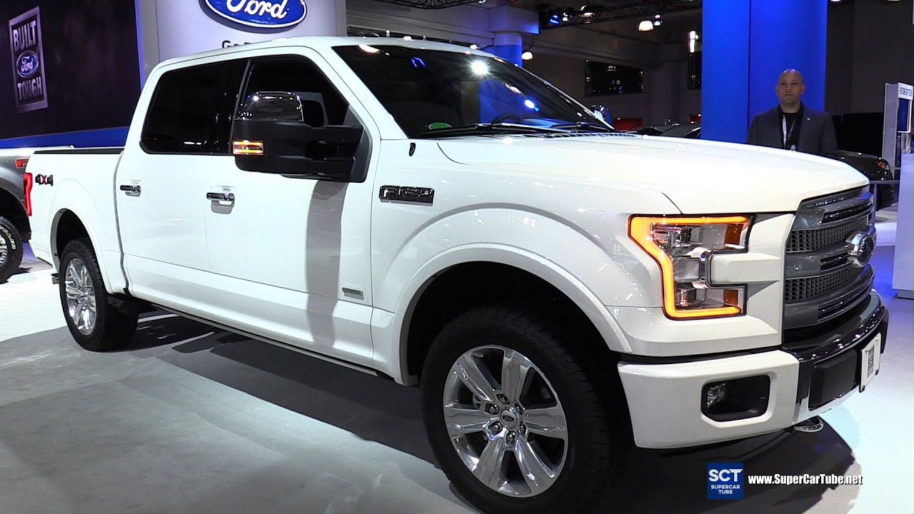 2016 Ford F 150 Platinum 4x4 SuperCrew Exterior and Interior