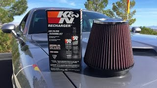 How to Clean/Recharge a K&N Air Filter