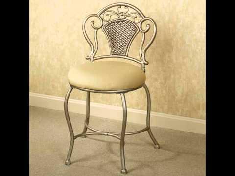 Vanity Stool Design Ideas| Popular Vanity Chair
