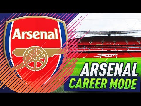 HERE WE GO!!! FIFA 18 ARSENAL CAREER MODE #1