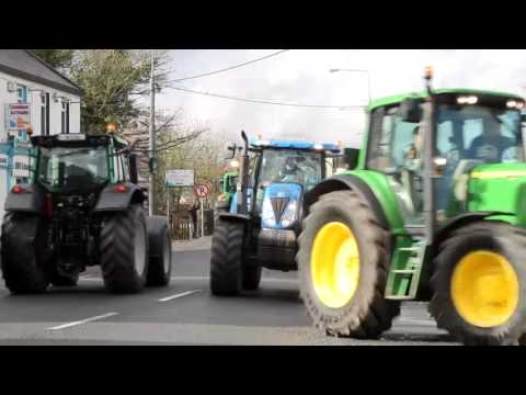 North Galway tractor run 2014