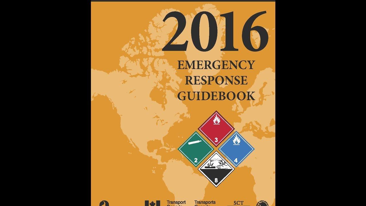 Emergency Response Guidebook (ERG) | PHMSA