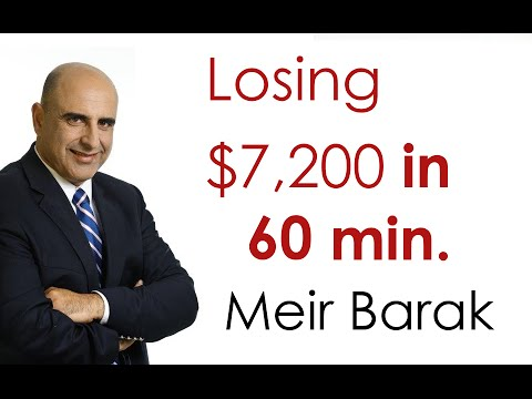 Day Trading - Losing $7,200 in 60 min. - Meir Barak
