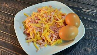 Готовлю Завтрак за 5 минут Быстрый простой и недорогой рецепт