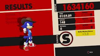 Sonic Forces Stage 2 Chemical Plant - Spaceport S Rank