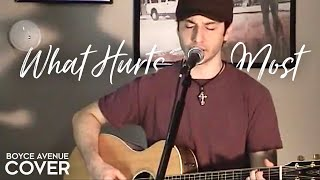 Rascal Flatts / Cascada - What Hurts The Most (Boyce Avenue acoustic cover) on Apple & Spotify