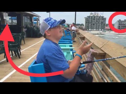 Fishing At Garden City Pier