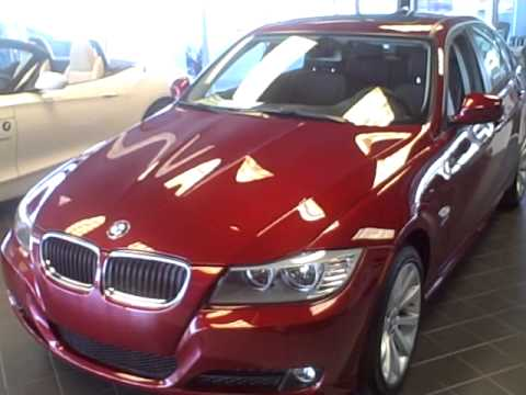 2011 Bmw 328i Xdrive Sedan Vermillion Red Metallic Youtube