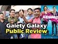 Judwaa 2 Public Review | Evening Show | Gaiety Galaxy HOUSEFULL Show