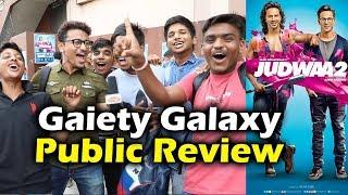 Judwaa 2 public review   evening show   gaiety galaxy housefull show